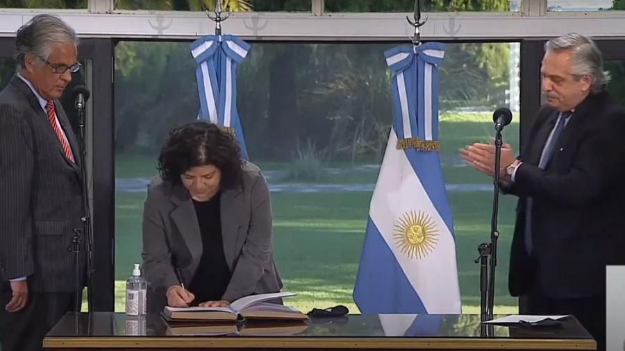 Carla Vizzotti juró como nueva ministra de Salud
