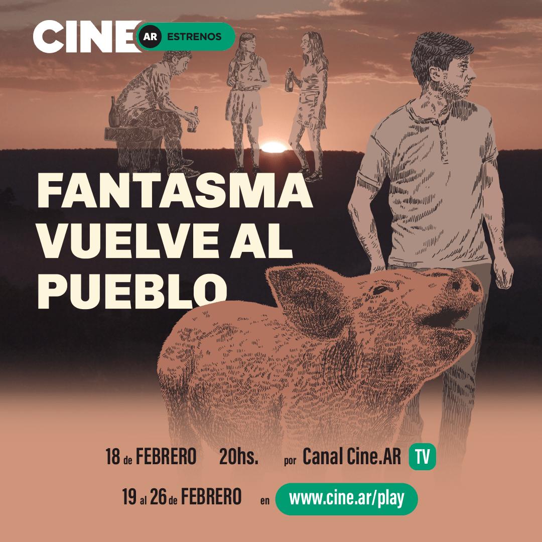 """Este jueves se estrena el film misionero """"Fantasma vuelve al pueblo"""" en CineAr"""