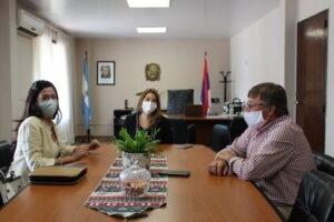 Economía Social: la Ministra Aguirre se reunió con diputados para vincular acciones
