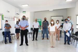 Aguirre recibió a dirigentes de la FECEM y la FEMICAP