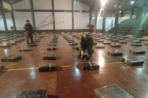Megaoperativo en Misiones: Prefectura secuestró casi nueve toneladas de marihuana valuadas en 828 millones