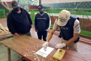Prefectura decomisó más de 1300 kilos de marihuana en Misiones