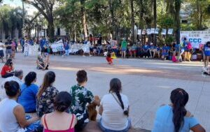 Femicidios: En Posadas también se realizó una manifestación para pedir justicia
