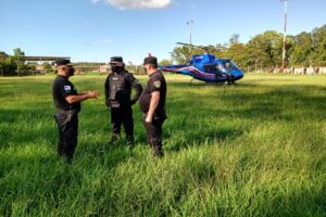 Con patrullaje aéreo, la Policía refuerza operativos rurales en el norte de la provincia