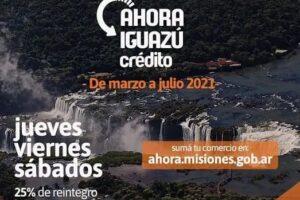 Ahora Iguazú: unos 70 comercios ya se inscribieron