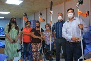 Se entregaron herramientas de trabajo a la Cooperativa Misioneritas