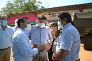 Misiones y Nación firmaron acuerdos para impulsar microcréditos, asistencia sanitaria y espacios de primera infancia
