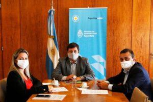 Herrera gestionó fondos por casi 100 millones de pesos para contención social
