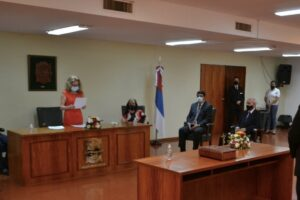 Juan Manuel Lezcano asumió como Juez de Primera Instancia de Apóstoles