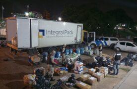 Prefectura incautó un cargamento de mercadería ilegal valuada en más de 8 millones de pesos