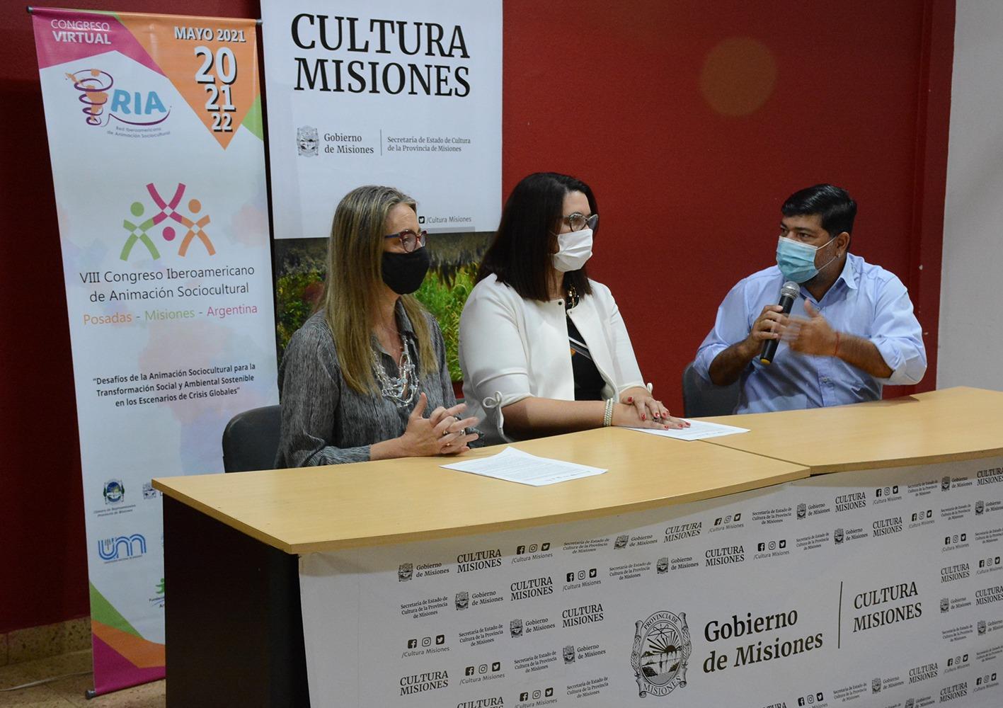 Misiones será sede del VIII Congreso Iberoamericano de Animación Sociocultural