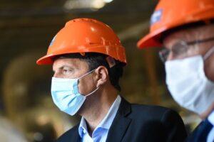 """Massa: """"El proyecto de Ganancias genera un alivio fiscal para los trabajadores y les permite recuperar salario"""""""