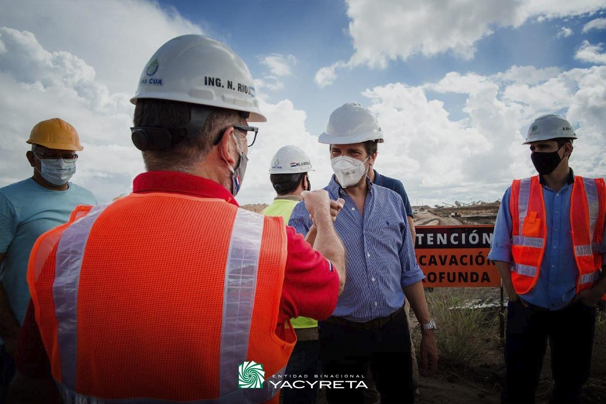 En el primer bimestre Yacyretá batió los récords de Potencia Máxima Instantánea, Media Horaria y Suministro Diario de Energía