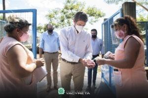 La EBY firma convenios con jardines maternales