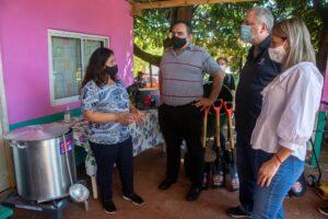 Desarrollo Social entregó insumos, herramientas y materiales a comedores y merenderos de la provincia