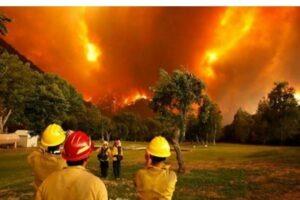 Los incendios en Chubut son un atentado a la soberanía