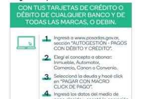 Nuevos beneficios para el pago de Tasas Municipales e Impuesto Automotor
