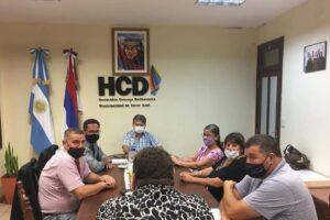 Dudek inauguró un nuevo periodo de sesiones ordinarias del Concejo Deliberante