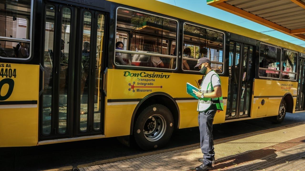 Vuelta a clases: la Municipalidad solicita a empresas de transporte las medidas de bioseguridad