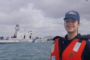 Es misionera la primera mujer Jefa de Máquinas del Guardacostas Río Paraguay de Prefectura