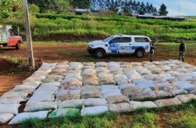 Prefectura secuestró más de nueve toneladas de soja en negro