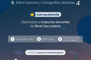 Leer en la virtualidad, nuevo curso auto asistido para el secundario
