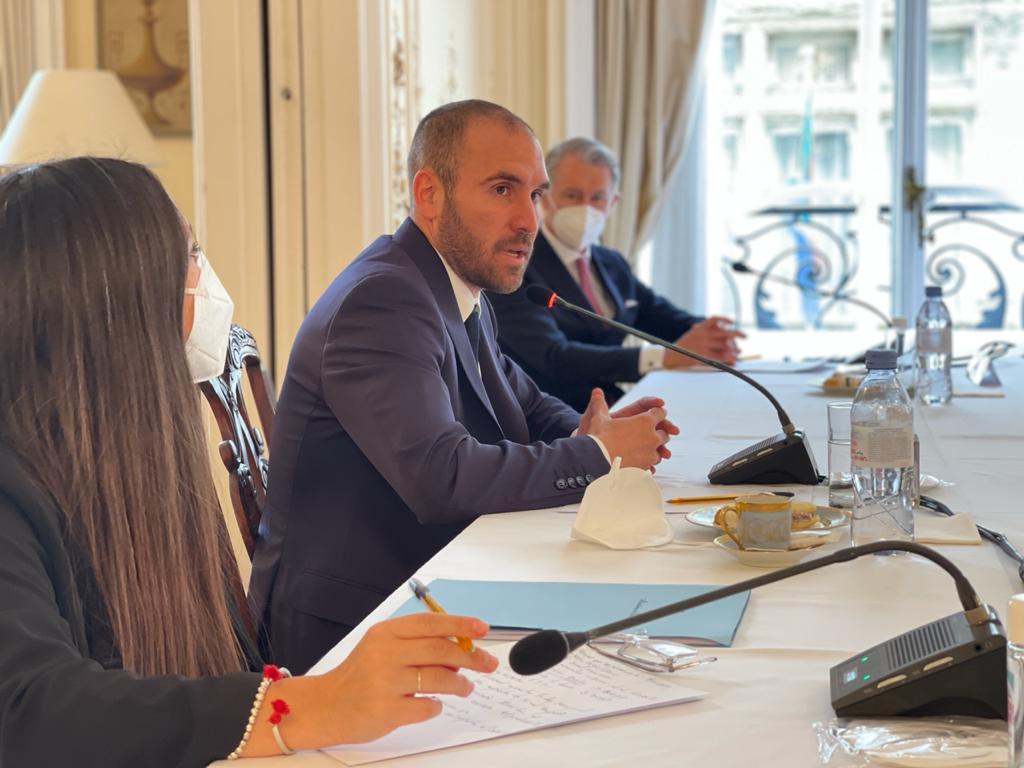Martín Guzmán se reunió con empresarios