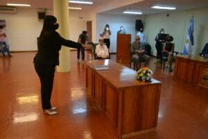 Asumió la nueva jueza de Familia y Violencia Familiar de Garupá, Miryan Elizabet Guidek