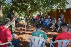 Abril comenzó con una intensa labor de Agricultura Familiar en la Provincia