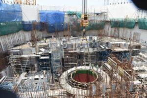En la cuarta unidad de la central nuclear Kudankulam se instaló el dispositivo de localización de masa fundida