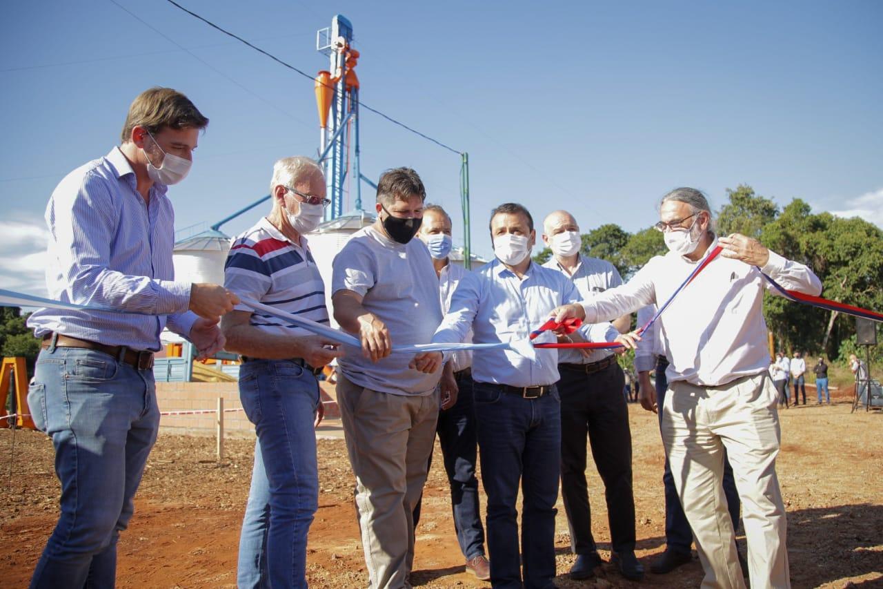 Herrera Ahuad y Basterra inauguraron planta procesadora de granos  en Andresito