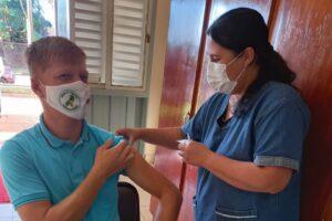 Campo Grande ya vacunó a todos sus docentes contra el coronavirus