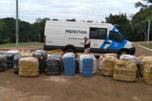 Puerto Iguazú: Prefectura secuestró más de 2.000.000  de pesos en artículos de contrabando