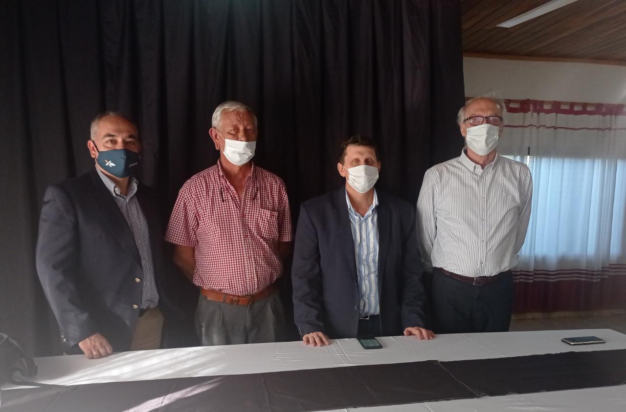 Haene destacó la participación de comerciantes en la presentación de los Programas Ahora en Andresito