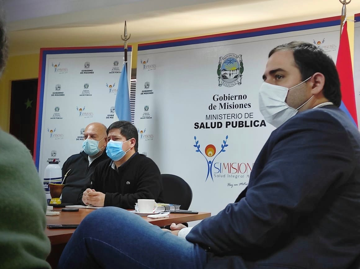 El segundo hospital en Leandro N. Alem, dio su primer paso