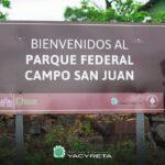 Campo San Juan es el primer parque federal de la Argentina