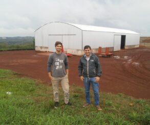 Construyen un secadero mixto en Campo Viera